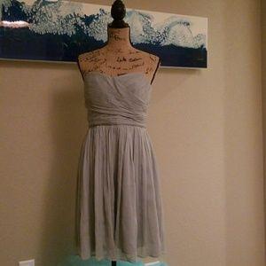 J Crew chiffon dress